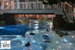 The Lazy River at closing time.