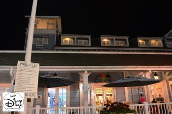 A view of Beaches & Cream from Stormalong bay