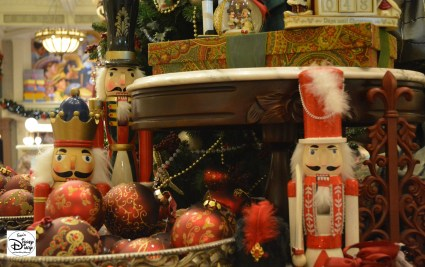 One of the many holiday merchandise displays, Magic Kingdom 2013