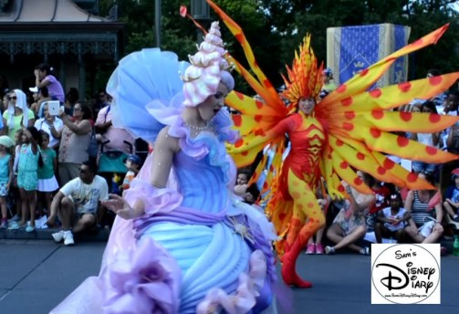 Lots of Whimsical Costumes, especially under the sea.