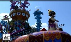 Festival of Fantasy, each float represents an element of Walt Disney Worlds Fantasyland