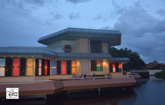 The former Odyssey Restaurant has ben converted to the Odyssey Center, the ESPN FIFA WDW Headquarters