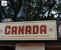 Epcot International Food and Wine Festival 2013 - Canada