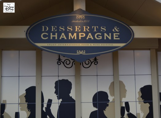 Epcot International Food and Wine Festival 2013 - Desserts & Champagnes