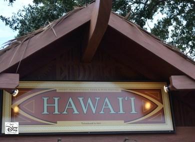 Epcot International Food and Wine Festival 2013 - Hawaii