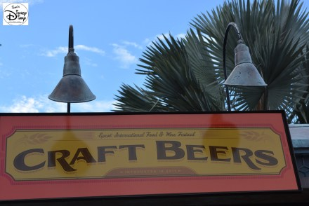 Epcot International Food and Wine Festival 2013 - Craft Beers