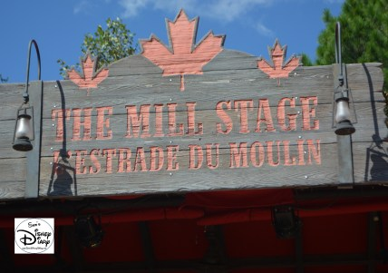 The Mill Stage is the home for the Canadian Lumberjacks
