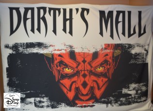 Darth's Mall was the place to be for Star Wars Merchandise.