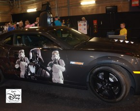 Darth's Mall was the place to be for Star Wars Merchandise. - Car Decals