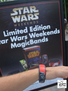 Limited Edition Magic Band... I got mine! Darth Vader