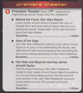 Star Wars Weekend 2014 - Premiere Theater