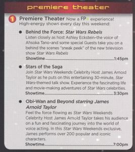 Star Wars Weekend 2014 - Premiere Theater