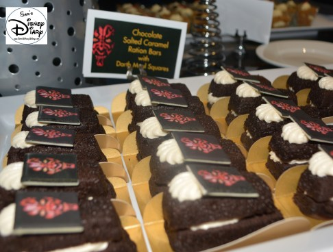 """Star Wars Weekend """"Fell The Force"""" Premium Package - Chocolate Salted Caramel """"Ration Bars"""" with Darth Maul Squares"""