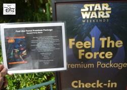 """Star Wars Weekend """"Fell The Force"""" Premium Package Dessert Menu - Yes Please!!"""