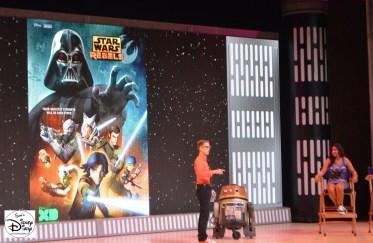 Star Wars Weekend 2015 Weekend 1 - Star Wars Rebels - #SWW2015 - James Arnold Taylor Greats Choper