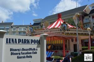 Luna Park Pool at the Walt Disney World Boardwalk