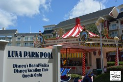 Luna Park Pool at the Walt Disney World Boardwalk