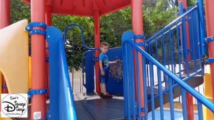 Kids Playground at Walt Disney Worlds Boardwalk Luna Park
