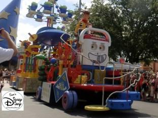 Pixar Countdown to Fun Parade was a daily parade at Hollywood studios from 2011-2013