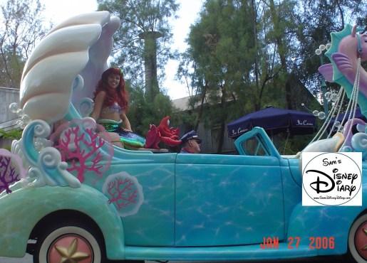 Disney Stars and Motor Cars Parade - Ariel