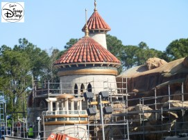 SamsDisneyDiary Episode #10 - New Fantasyland Phase #1 (Storybook Circus) February 2012