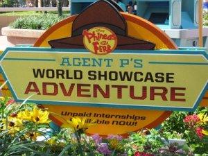 Agent P World Showcase Adventure