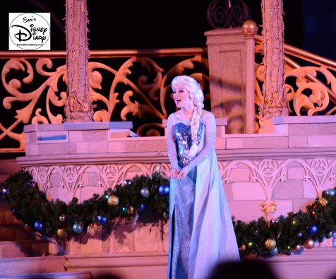 "Sams Disney Diary #65 - Elsa prepared to ""freeze"" the castle in the 2015 Frozen Holiday Wish -"