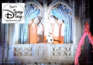 Sams Disney Diary #65 - Olaf During the 2015 Frozen Holiday Wish
