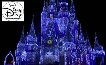 Sams Disney Diary #65 -Cinderella Castle Lights in 2013