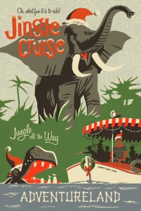 Sams Disney Diary Episode #66 - The Jingle Cruise official attraction poster