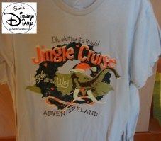 Sams Disney Diary Episode #66 - The Jingle Cruise T-Shirts are available in Adventureland