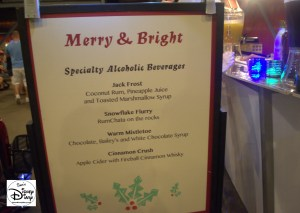 New for 2015 - The Merry and Bright Dessert Party - Specialist Adult Beverages