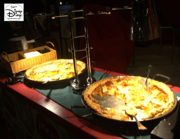 New for 2015 - The Merry and Bright Dessert Party and VIP Viewing Location. - Peach Cobbler and Apple Pie
