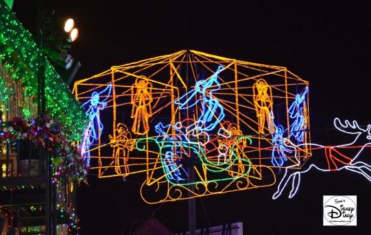 Angels Dance behind Santa.