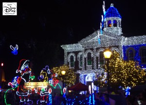 Osborne Spectacle of dancing Lights - Lights Motor Action Building and Santa and Mickey