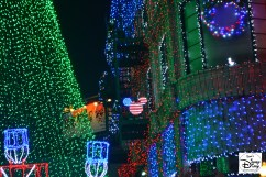 The 20th and Final Year of the Osborne Spectacle of dancing Lights - Hidden USA Mickey