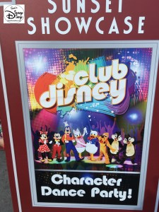 """Sunset Showcase the new """"Multi Purpose Building"""" in Hollywood Studios between the Rock and Roller Coaster and Tower of Terror placed host to """"Club Disney"""" for 2 short months."""
