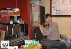 Sams Disney Diary Frozen Around World Showcase - Japan - Green Tea Coloda