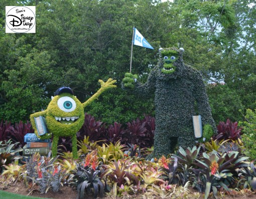 Epcot Flower and Garden Festival - Mike & Sulley's Monstrous Garden