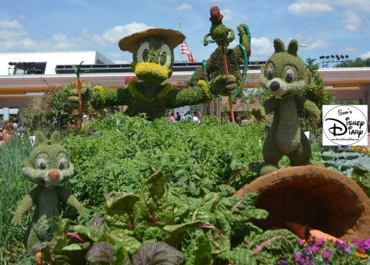 Epcot Flower and Garden Festival - Goofy About Spring Topiary