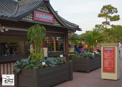 Epcot Flower and Garden Festival Outdoor Kitchen