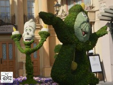 Epcot Flower and Garden Festival - Topiaries in France