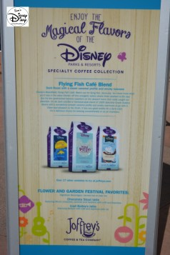 Epcot Flower and Garden Festival - Sponsored by Joffery's Coffee