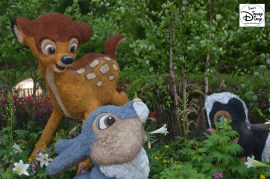 Epcot Flower and Garden Festival - Bambi and Friends in Canada