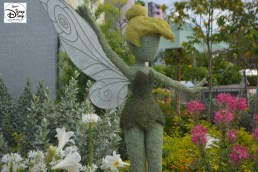 Epcot Flower and Garden Festival - Tinker Bell topiary