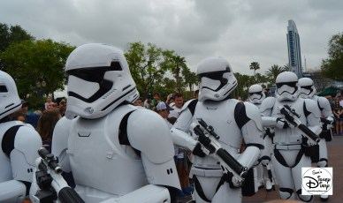 """Star Wars Weekends 2016 - """"First Order March"""" led by Captain Phasma"""