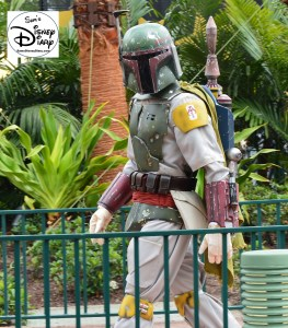 "Star Wars Weekends 2016 - Boba Fett Backstage prep for ""A Galaxy Far, Far Away"" stage show."