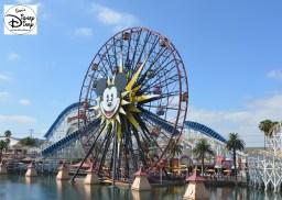 Mickey's Wonder Wheel at Disney California Adventure Park