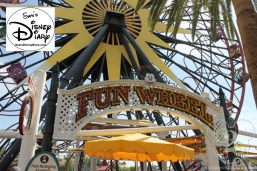 Mickey's Fun Wheel entrance at California Adventure Park