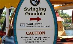 Big decisions await you at Mickey's Fun Wheel - Swinging Gondola or Non-Swinging